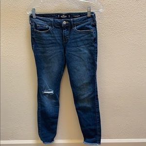 Low-rise super skinny hollister jeans